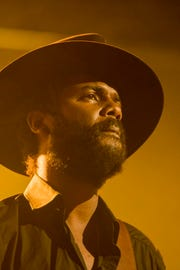 Gary Clark Jr. performs at the Blue Balls Festival in Lucerne, Switzerland, on July 22, 2018.