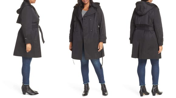 Spring is almost here, and you'll be ready for any weather in this classic trench.