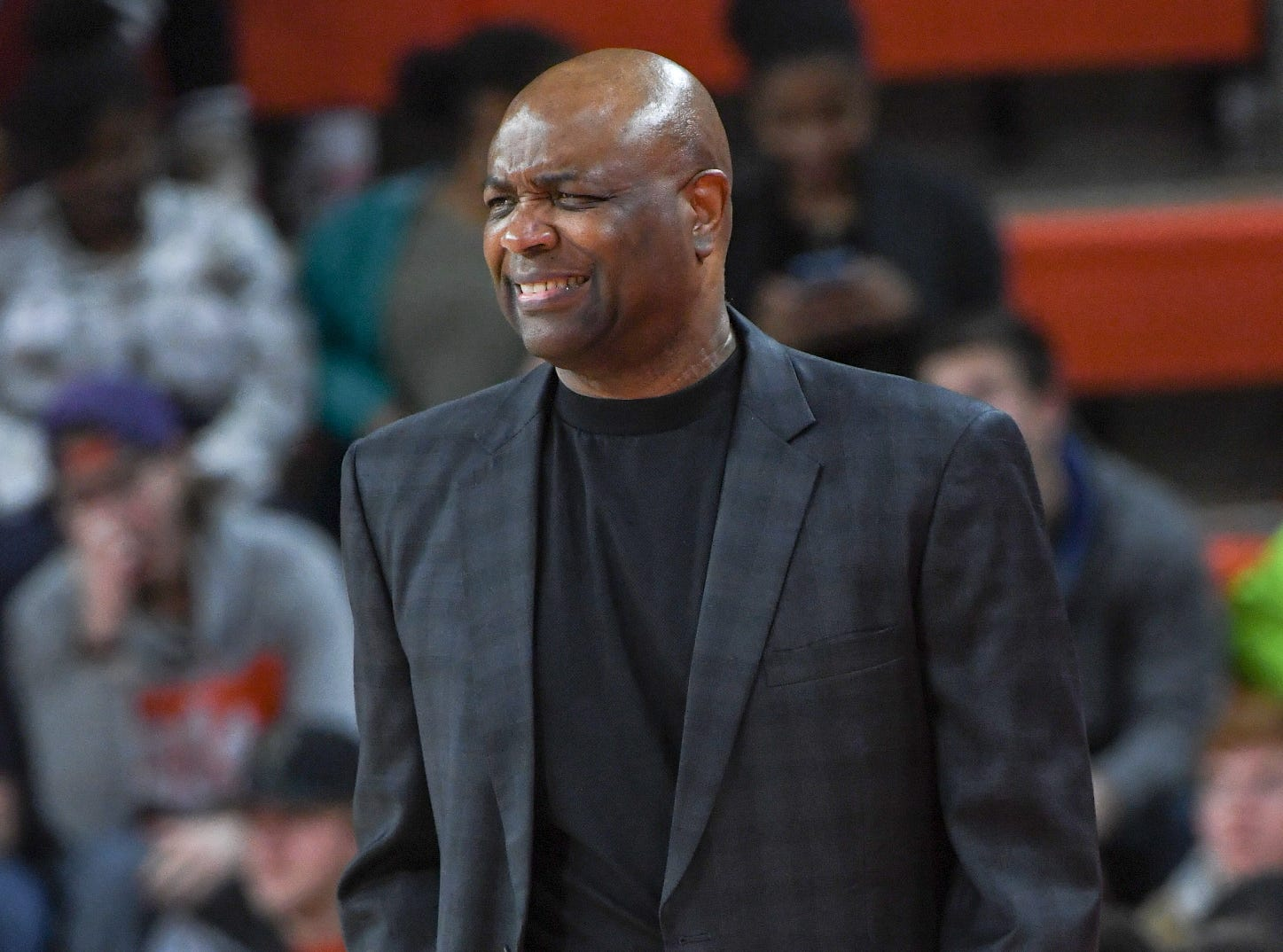 Florida State Leonard Hamilton during the second half at Littlejohn Coliseum in Clemson Tuesday, February 19, 2019.