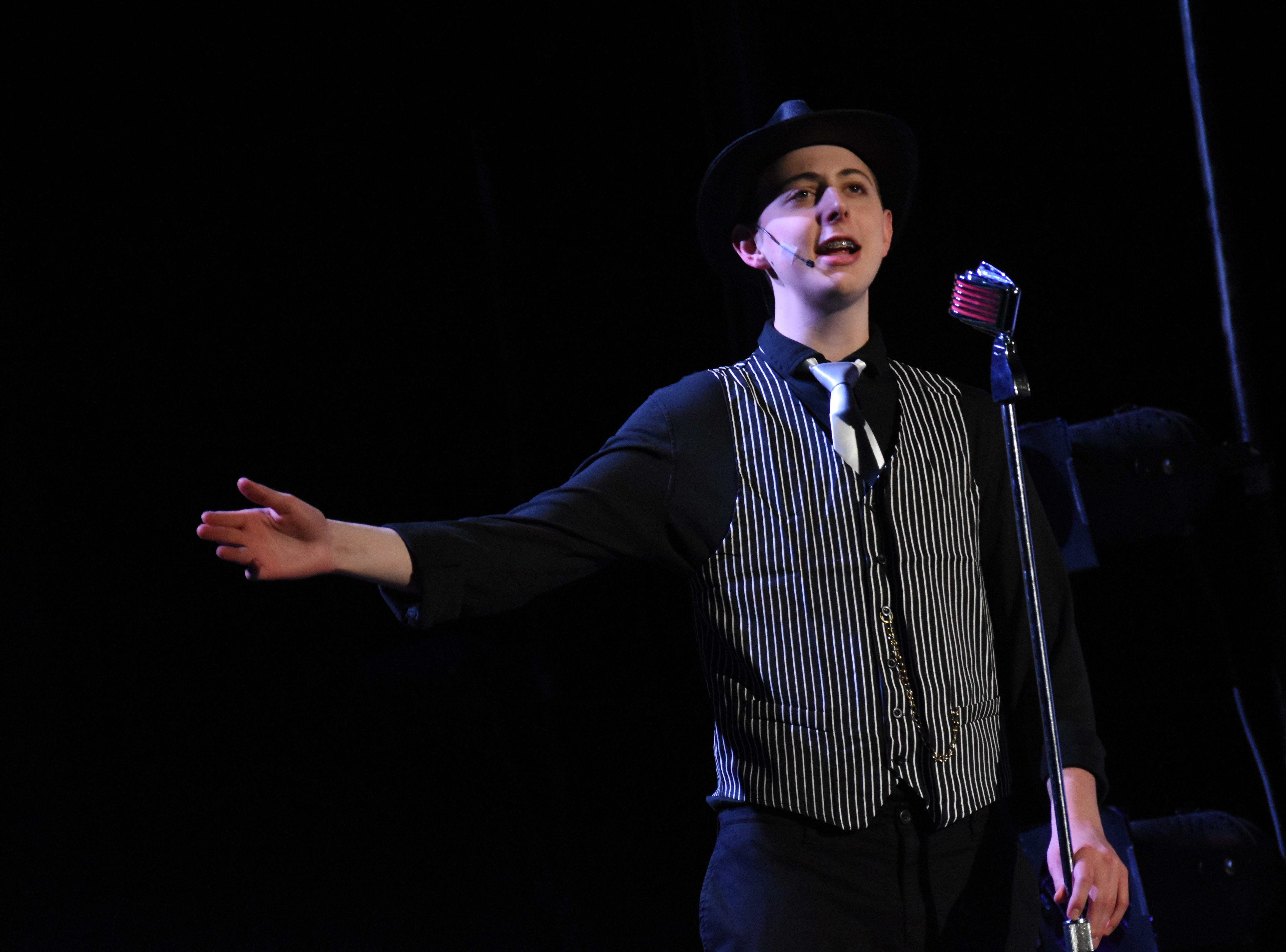 """Pineville High School Theatre's production of """"Chicago (High School Edition)"""" is set to open at 7 p.m. Thursday, Feb. 21, 2019 in the PHS auditorium. The show will be at 7 p.m. Friday and Saturday and at 2 p.m. Sunday. Tickets are $13.50 for adults, $10.50 for seniors and $8.50 for students. The musical, set in Chicago the 1920s, is about a married woman named Roxie Hart who murders a man with which she is having an affair. She is convicted and sentenced to death. She and another convict at the prison, Velma Kelly, vie for fame, fortune and headlines in the newspapers. Alyssa McClain stars as Roxie; Mia Huffman as Velma; Nico Zona as Billy Flynn; Gabrielle Bernard as Matron """"Mama"""" Morton and Kaiden Carbaugh as Amos Hart.Tickets can be purchased at www.pinevillehightheatre.net."""