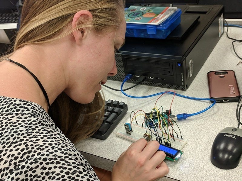 Toms River Regional's TechReady program is a three-year project funded by the Office of Naval Research. The project paved the way for the district's latest grant award from the New Jersey Department of Education. The grant funds advanced computer science programs.