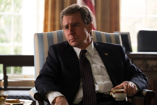 "Sam Rockwell stars as George W. Bush in Adam McKay's ""Vice,"" an Annapurna Pictures release."