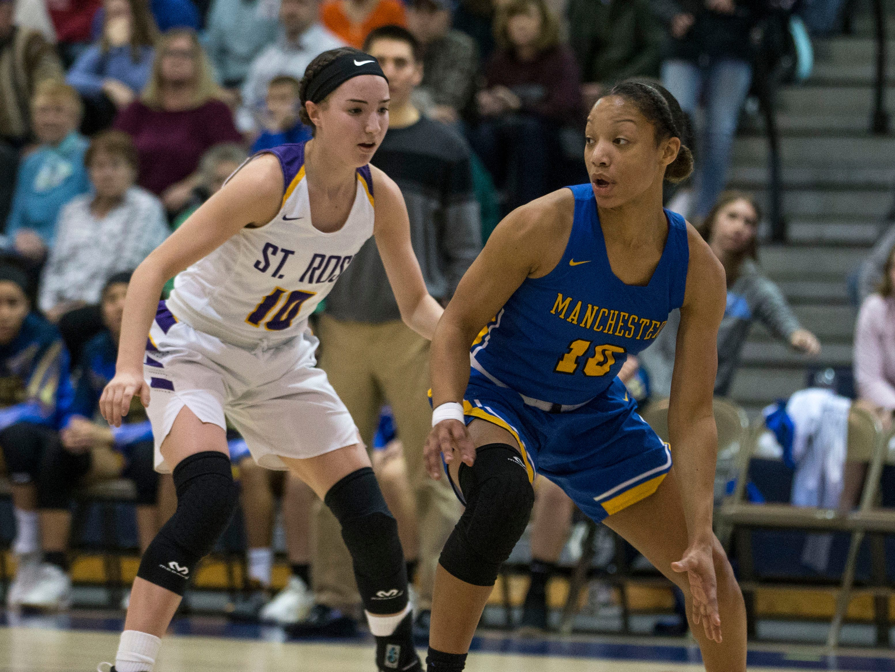 Shore Conference Tournament semifinals featuring St. Rose vs Manchester.Toms River, NJTuesday, February 19, 2019