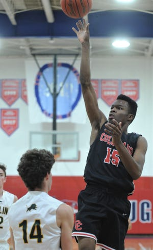 Colorado City Colorado's Omar Boone (15) put up impressive numbers all season. For the year, Boone averaged 21.7 points and 10.4 rebounds a game to earn Class 3A All-Big Country MVP.