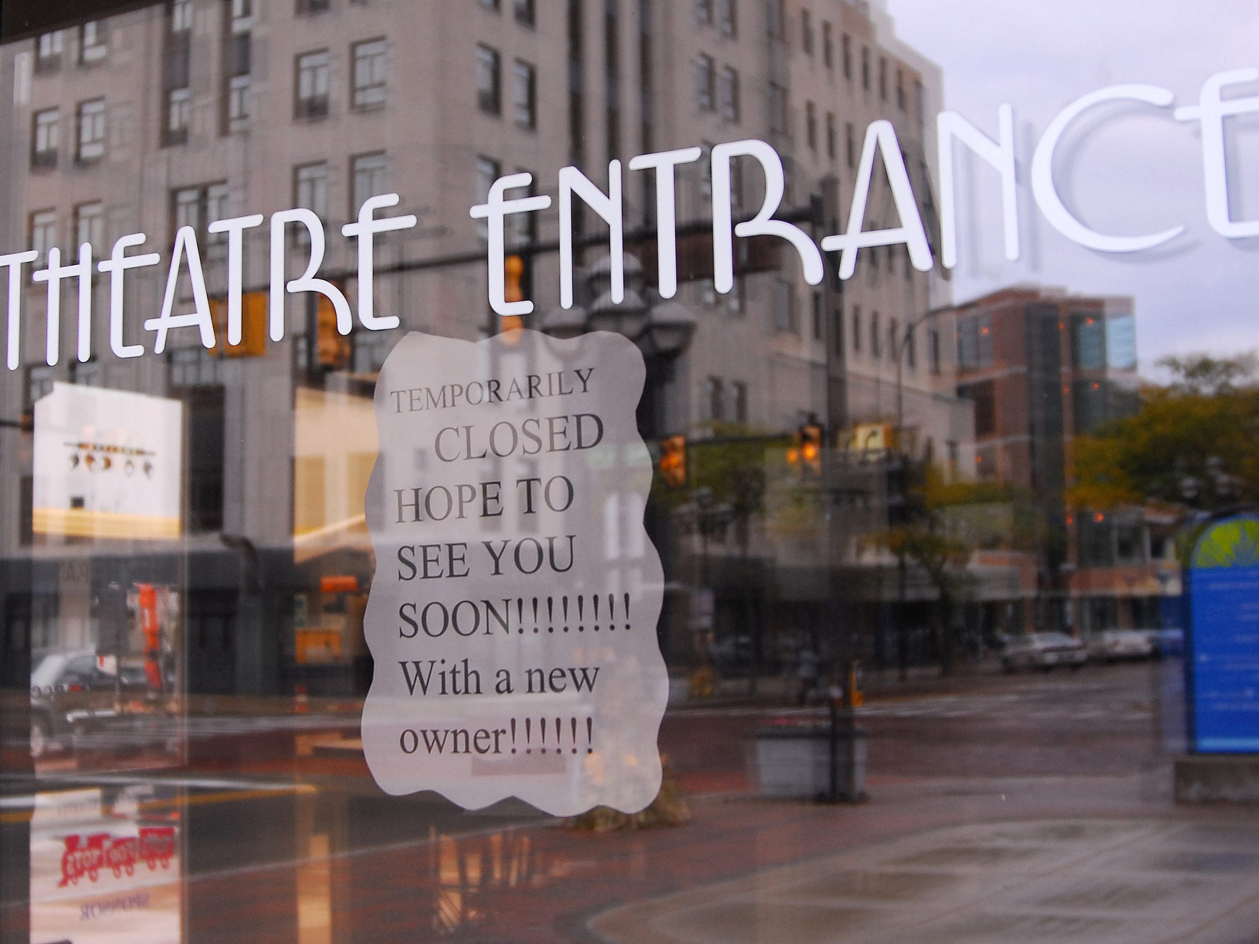 In this 2009 photo, a sign at the entrance of Gary Fields Comedy Club in downtown Battle Creek.