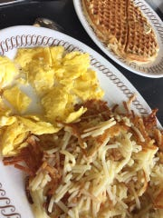 For comfort food, sometimes nothing but Waffle House will do, according to Nicole Davidson Meyers.