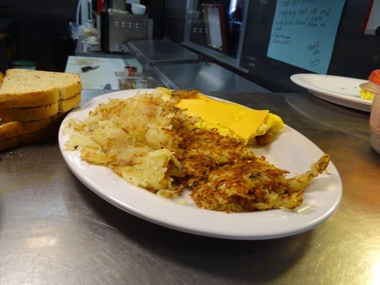 Lu Lu's Kitchen offers all-day breakfast.