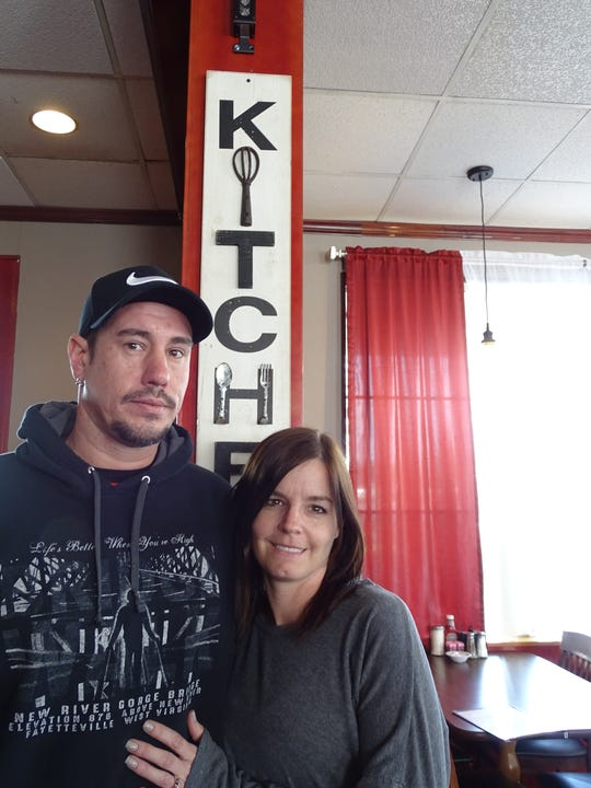 Ryan and Kim Stamper have opened Lu Lu's Diner on Marion Road.