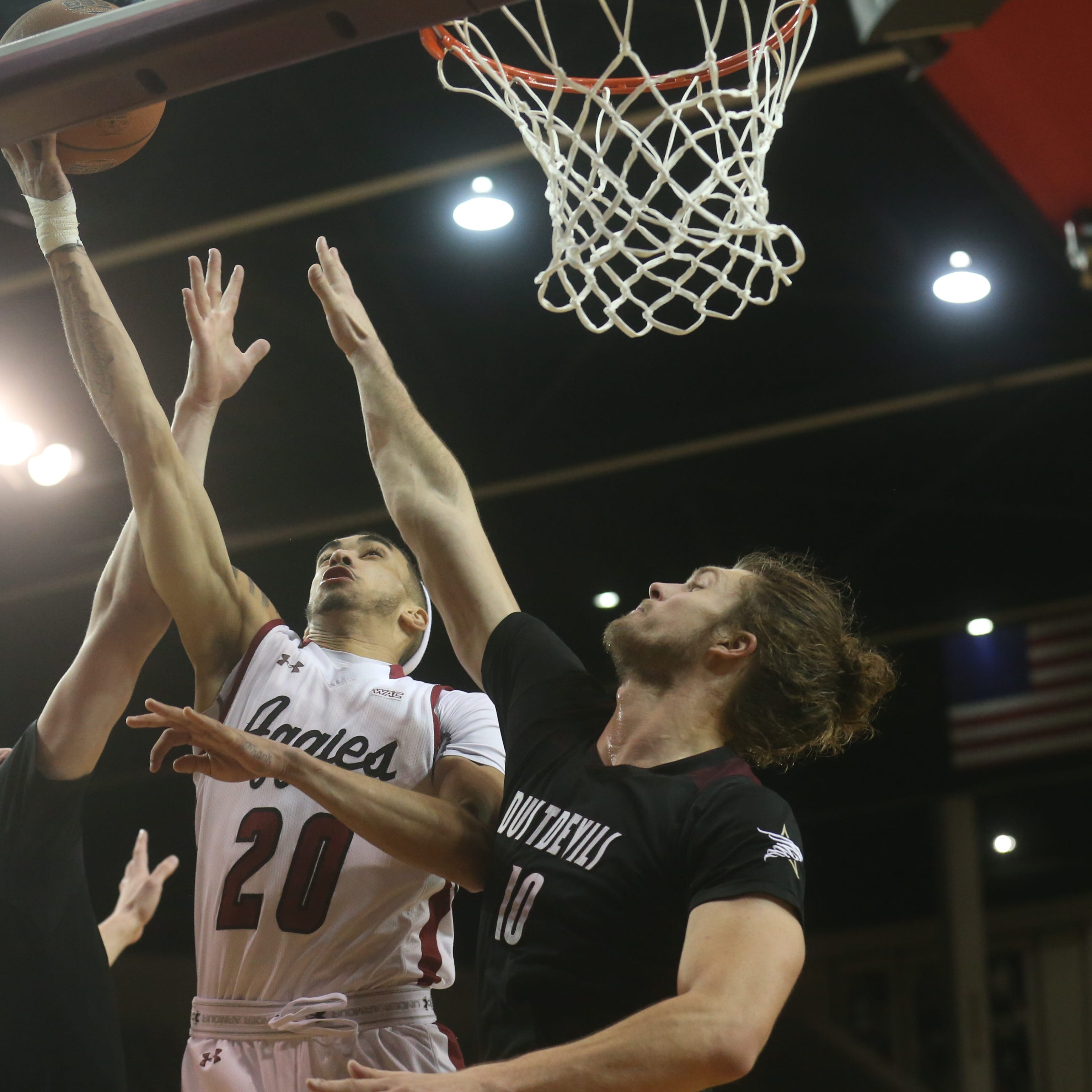 New Mexico State coasts to 23rd win of season