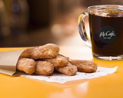 Donut Sticks will be available at a McDonald's near you for a limited time.