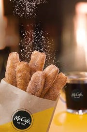 Customers can get free McDonald's Donut Sticks on March 1 and 2.