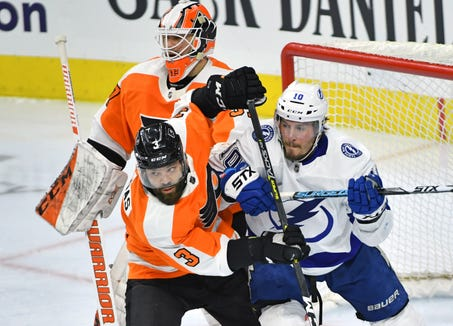 Radko Gudas was suspended for high-sticking Nikita Kucherov in Tuesday night's game against his old team, the Tampa Bay Lightning.
