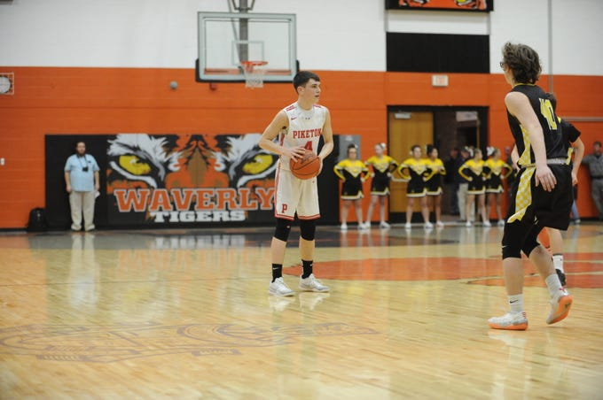 Piketon defeated Lynchburg Clay 55-22 in a Division III sectional semifinal's game Tuesday night in Waverly, Ohio.