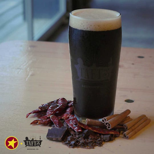 The Cincy Chili Porter is a collaboration between Taft's Brewing Company and Gold Star Chili for National Chili Day.