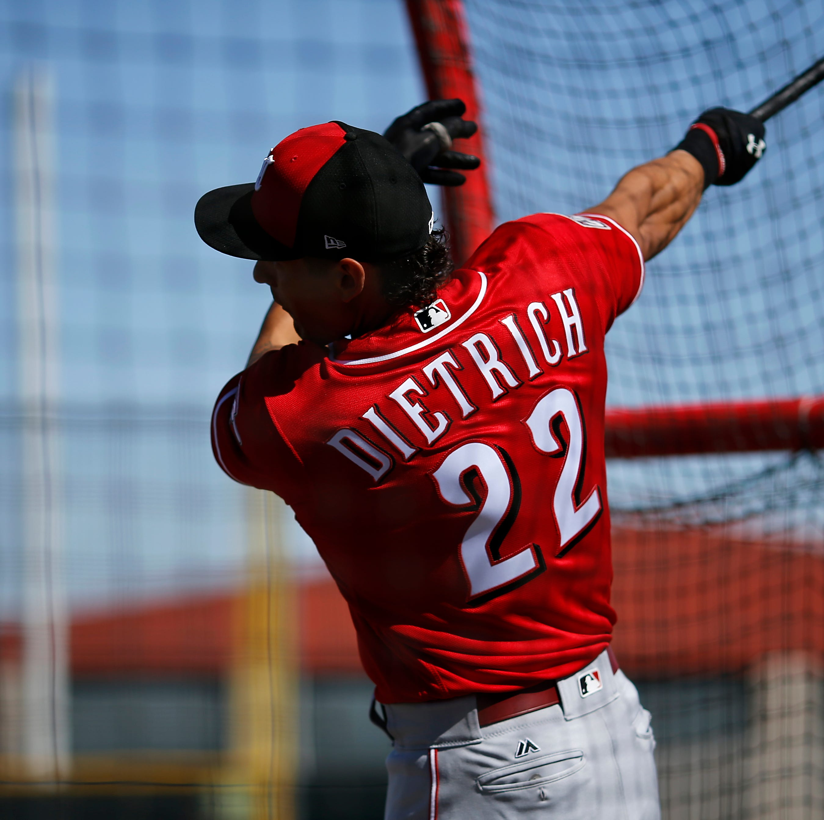 Derek Dietrich gives the Cincinnati Reds added versatility