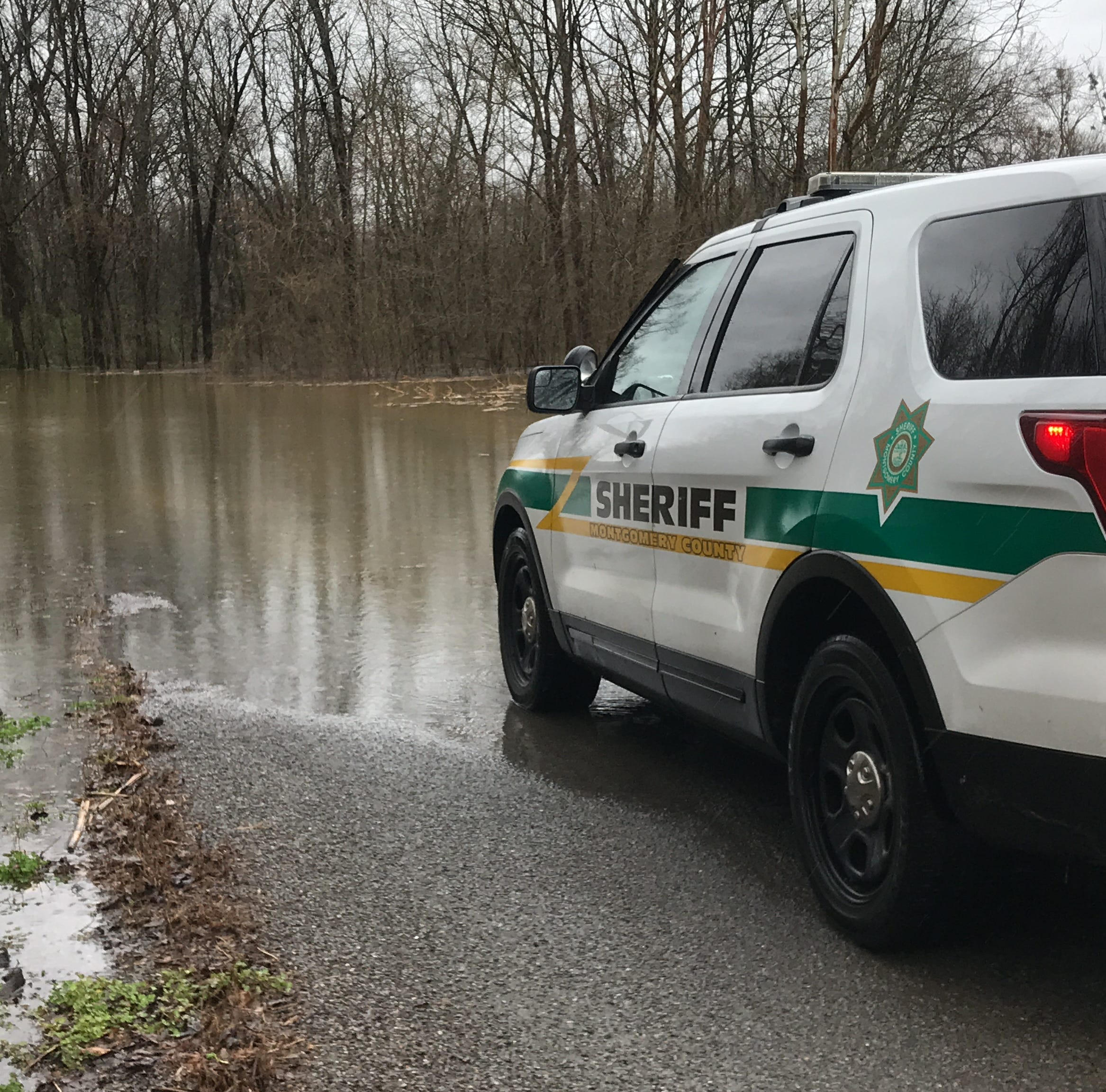 Clarksville flooding: Some roads in Montgomery County closed, heavier storms coming