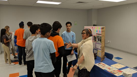 On Feb. 19,  Thomas Edison EnergySmart Charter School  held Career Day for its students. Many parent volunteers participated showcasing their careers and enlightening our students on various options that are out there. From the medical field to real estate to government jobs, the students walked the room listening to job qualifications and asking questions. This event provided students with a dynamic and substantial experience that enables a connection between their academic pursuits and professional endeavors in the future.