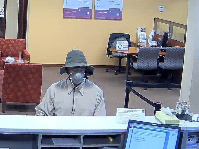 Christopher Dickerson of Newark was arrested and charged with second-degree robbery in connection with a bank robbery at Wells Fargo Bank in South Plainfield in September 2018, South Plainfield police said.