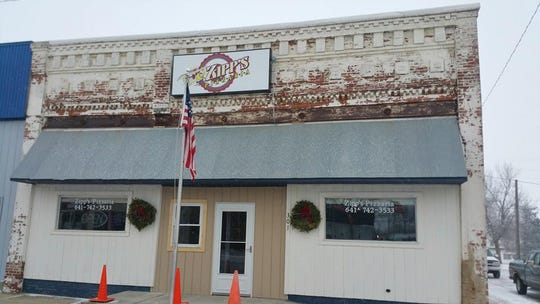 Zipp's Pizzaria is located at 301 Audubon Street in Adair.