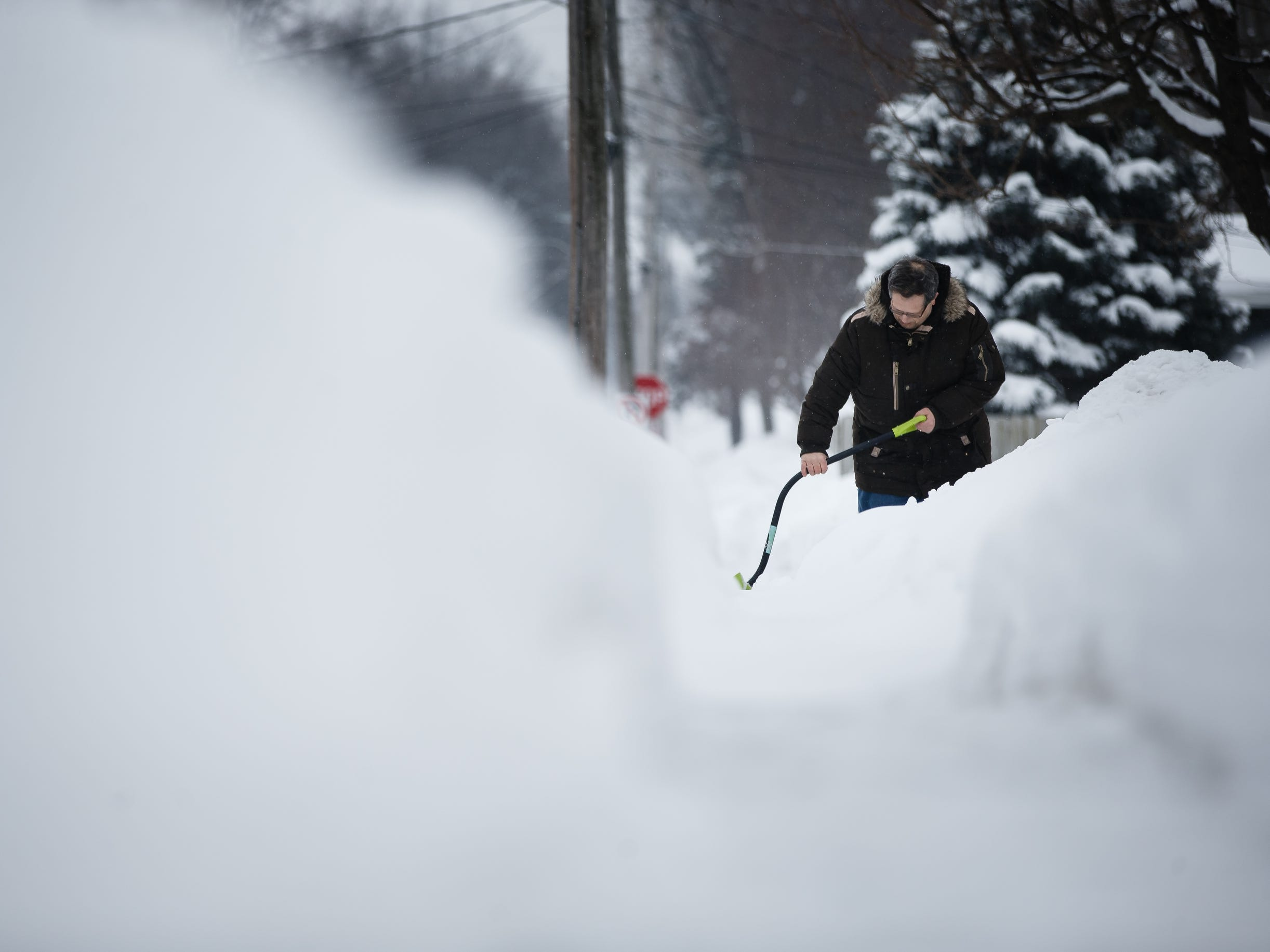 No new record for February snowfall, but Iowa is days away from another wintry blast
