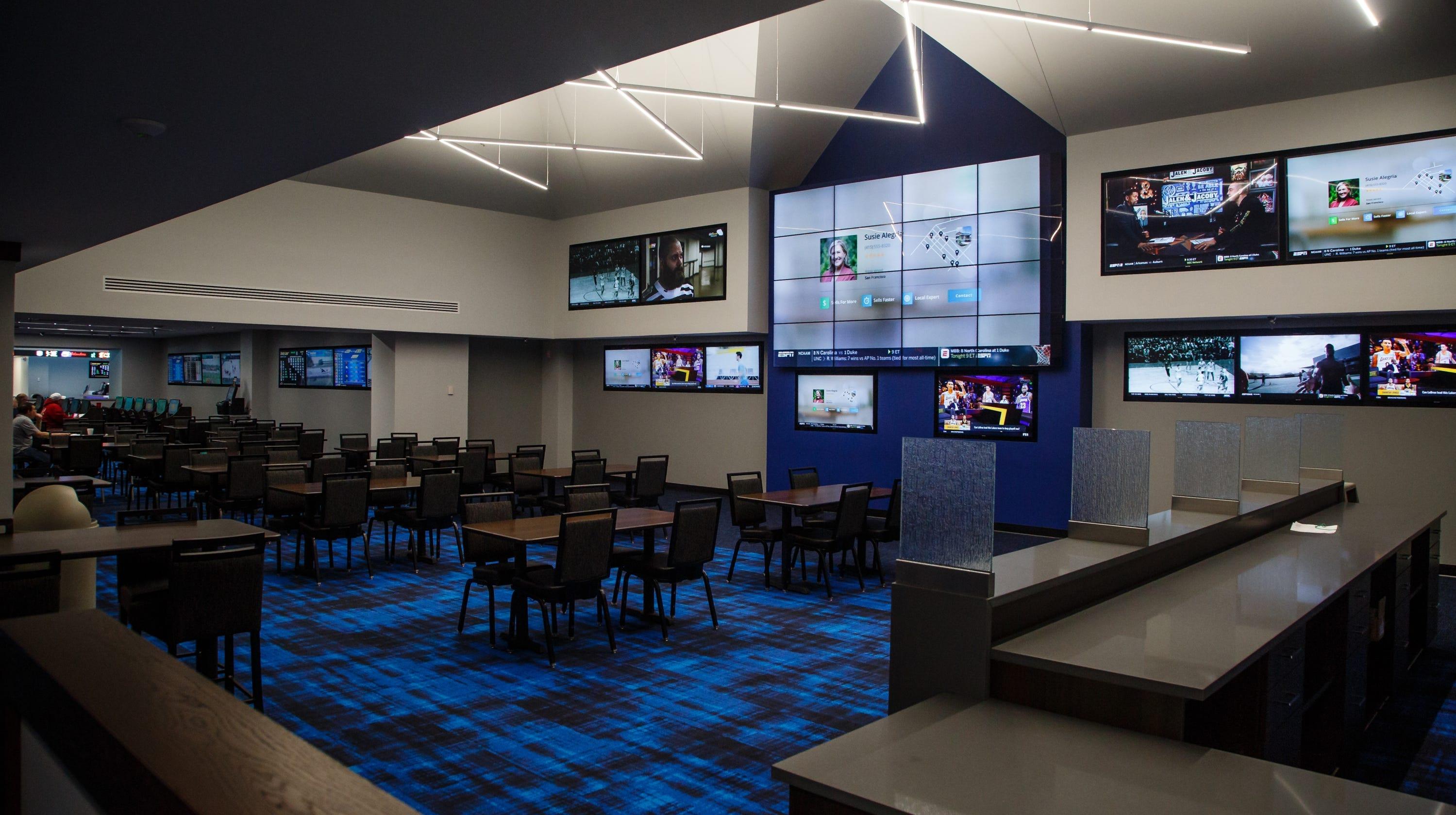 Sports gambling: Prairie Meadows builds Iowa's first sportsbook