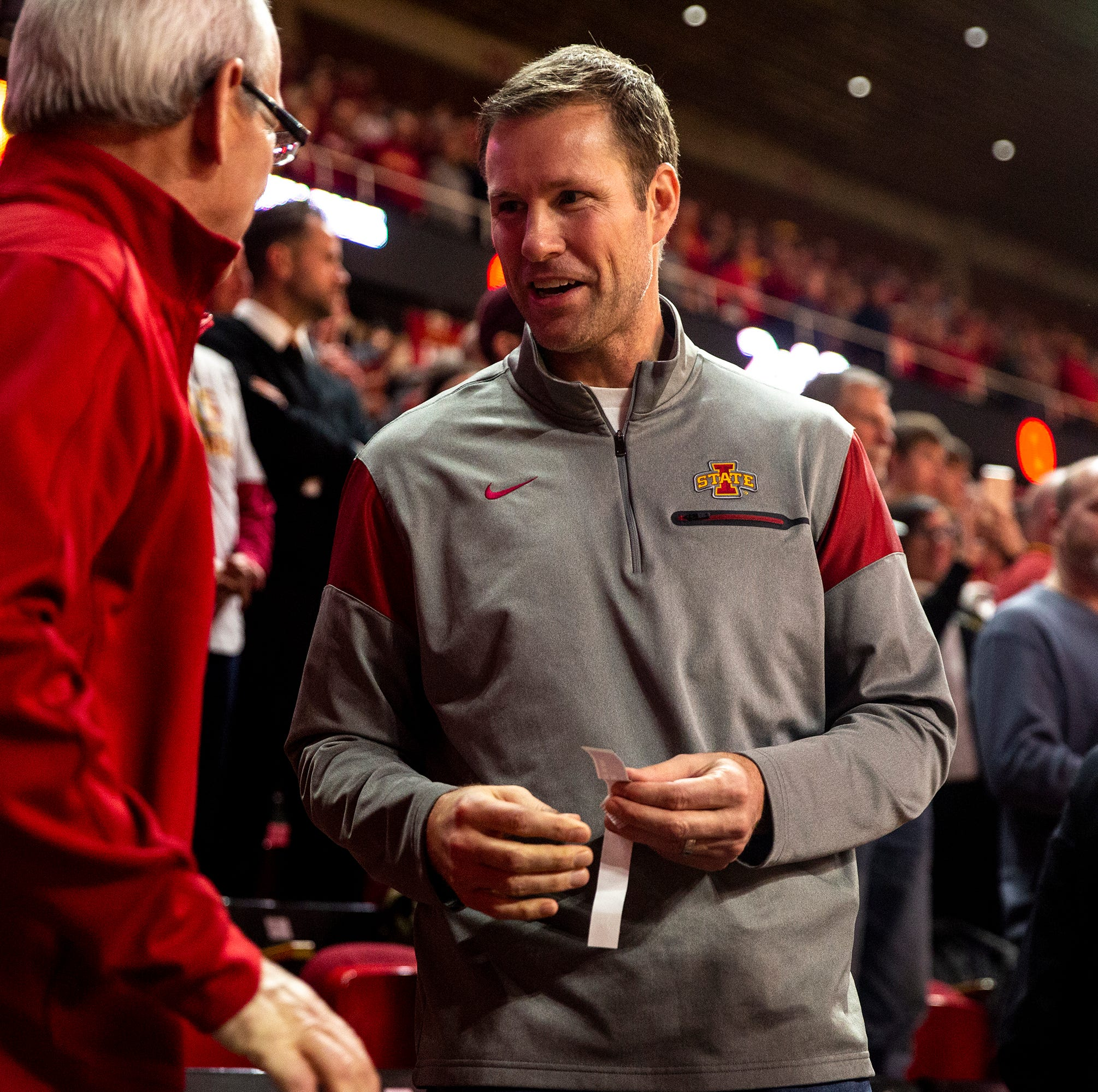Peterson: Back in Ames for a game, Fred Hoiberg says he misses the 'grind' of coaching