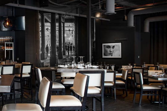 A news release says the interior décor  at Bistro 82 emphasizes intimacy and style while reflecting modern-day Paris.