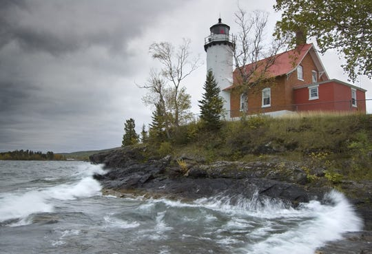 """Eagle Harbor Lighthouse"" by Kim-Tong Gan, is part of a photo exhibit with Tom Coratti, at Meadowbrook Art Center in Novi that runs through Jan. 31, 2006."