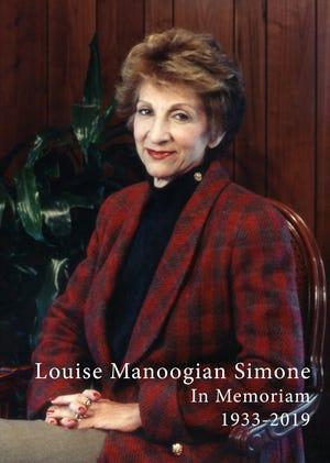 Louise Manoogian Simone