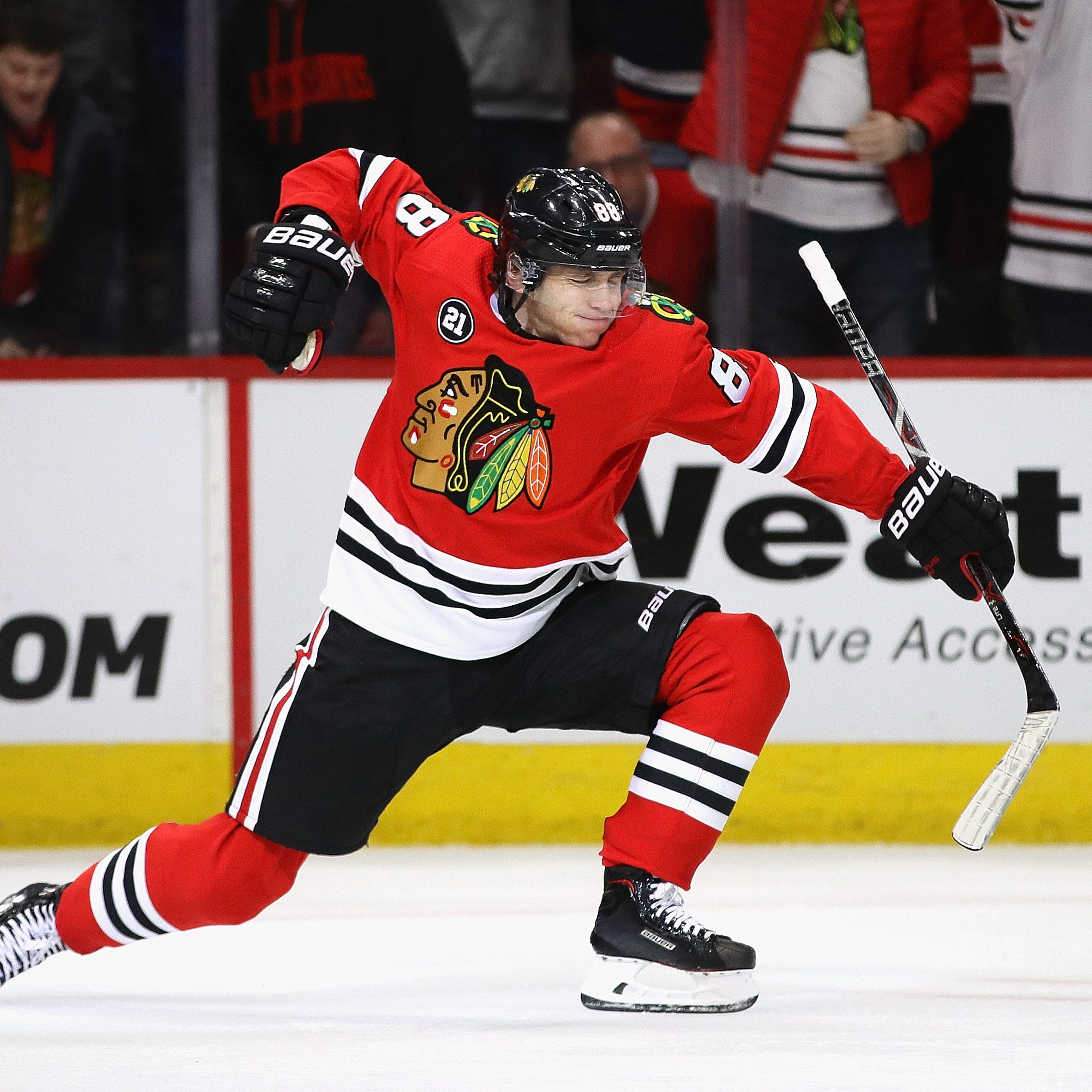 Red Wings wary of 'dialed in' Patrick Kane in MVP-caliber season