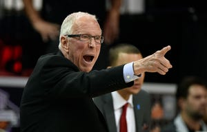 Former Michigan coach Steve Fisher won 386 games in 18 seasons at San Diego State.