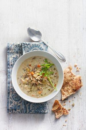 Minnesota Wild Rice Soup. (Dennis Becker/Lisa Golden Schroeder/TNS)