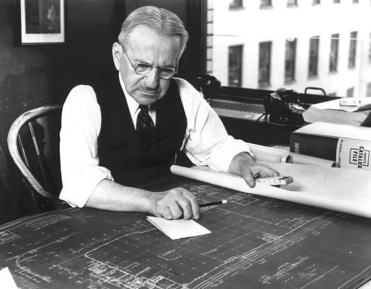 Detroit architect Albert Kahn.