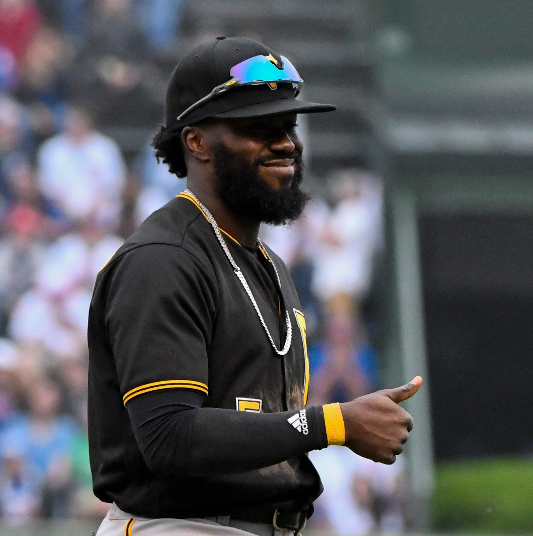 Josh Harrison is officially a Tiger: 'He just makes us a better team overall'