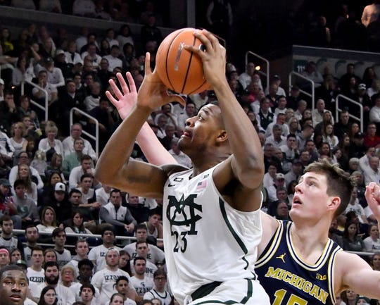 "Tickets are hard to come by for Michigan State's game Sunday at Michigan, causing ""get-in"" prices on the secondary mark to soar."
