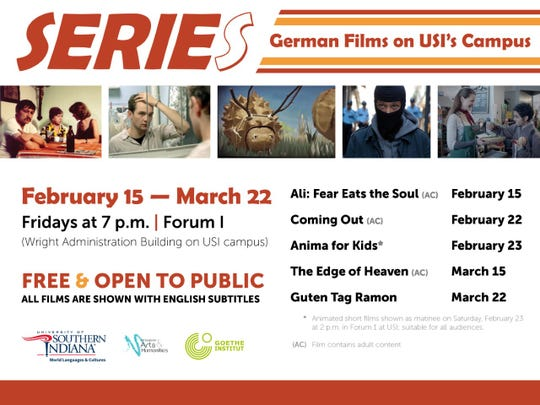 USI's German program is presenting a German Film Series.