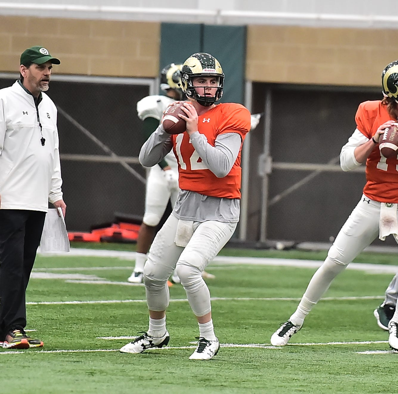 Blizzard forces CSU football to move spring game indoors and close it to the public