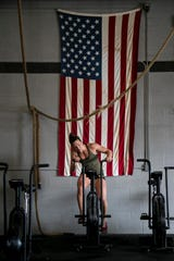 Alison Cowdin of Fort Myers  is one of the thousands of athletes competing in the 2020 CrossFit Open.