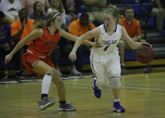 Canterbury's Katie Ambrose has been a big part in the Cougars' success after her transfer from Gateway Charter.