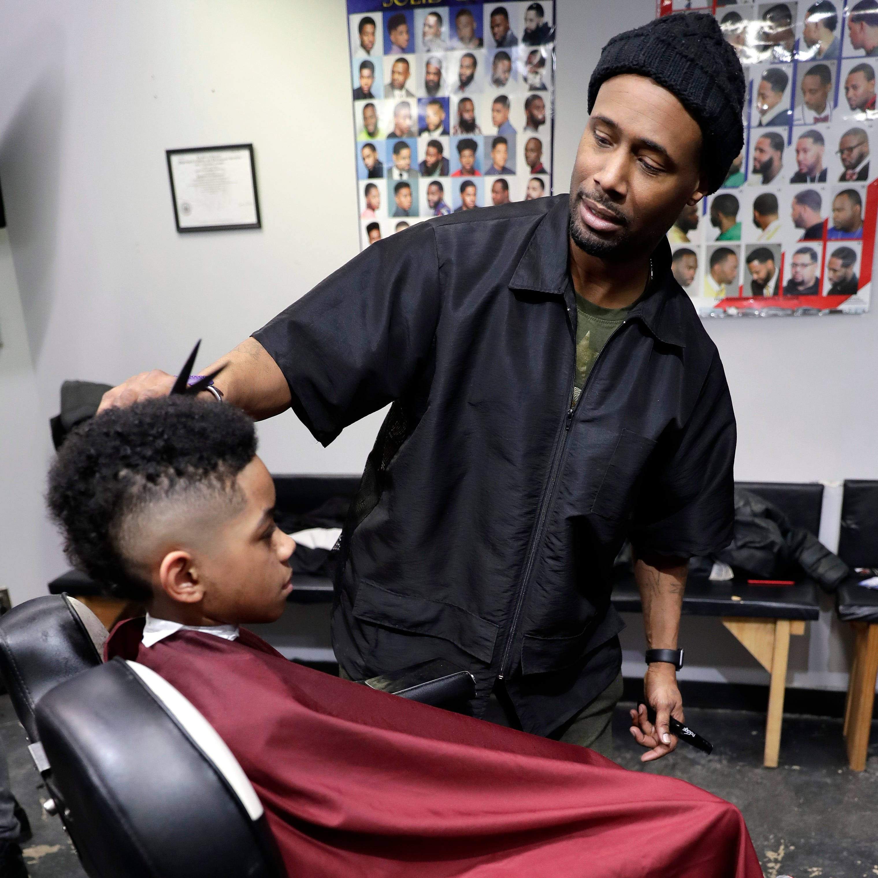 'A place where community happens': How barbershops unite diverse communities in Wisconsin