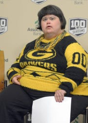 Amy Nelson of Fence, Wis., is the 21st inductee into the Green Bay Packers FAN Hall of Fame. She was elected by other Packers fan. The announcement was Wednesday, Feb. 20, 2019 at Lambeau Field.