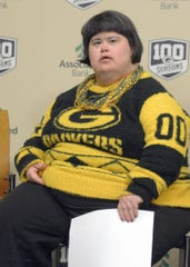 Amy Nelson of Fence, Wis., was the 21st inductee into the Green Bay Packers FAN Hall of Fame. She was elected by other Packers fan. The announcement was Wednesday, Feb. 20, 2019 at Lambeau Field. Voting for this year's inductee is open through Jan. 31.