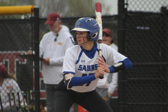 Marian University senior Lindsey Strainis is a lifetime .300 hitter.