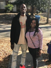 Lamara Wilson, 27, and his fiance, Jaquita Suit, 28, were struck head-on by a Sheriff's Office deputy who was driving 96 mph to another call.