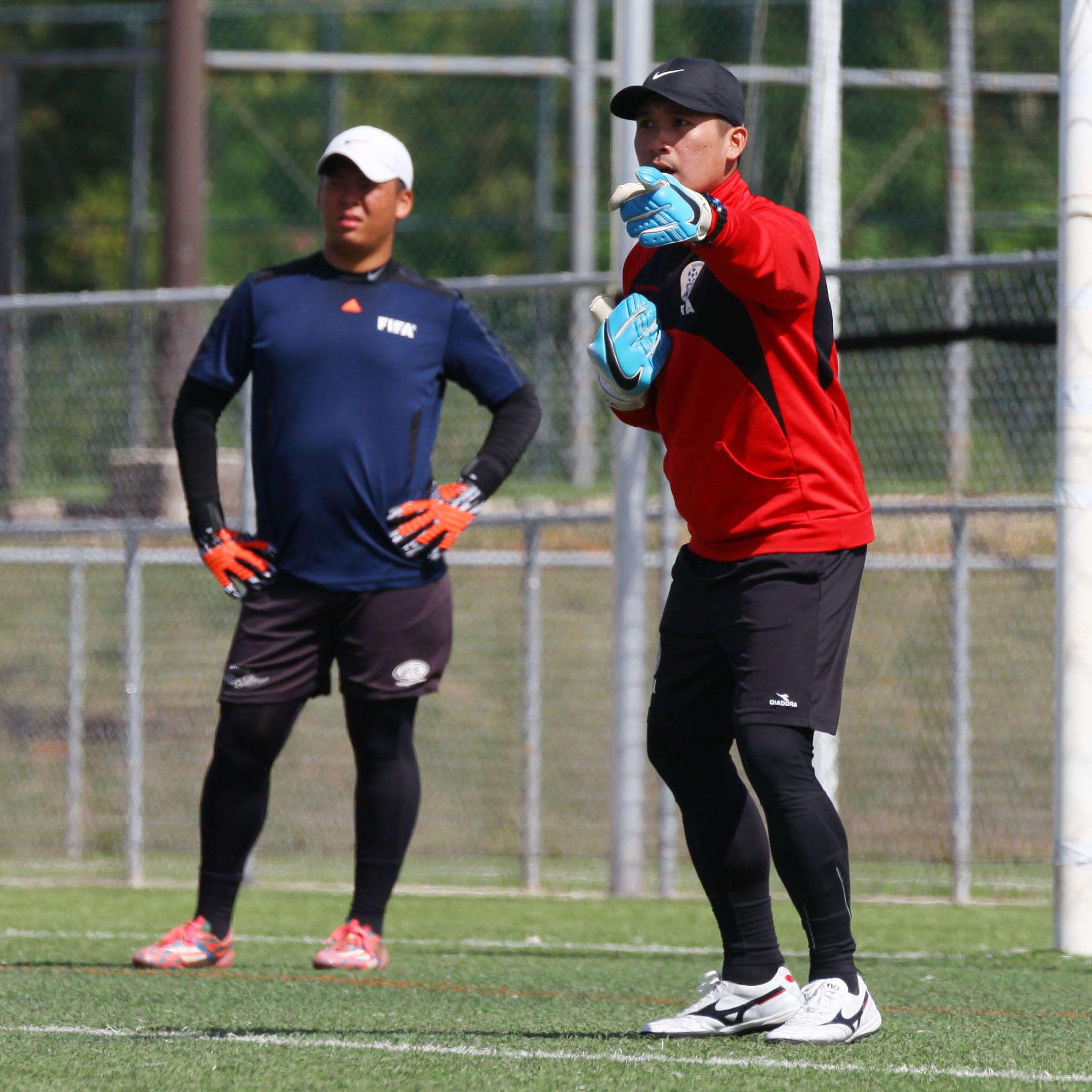 5 complete GFA goalkeeper coaching course