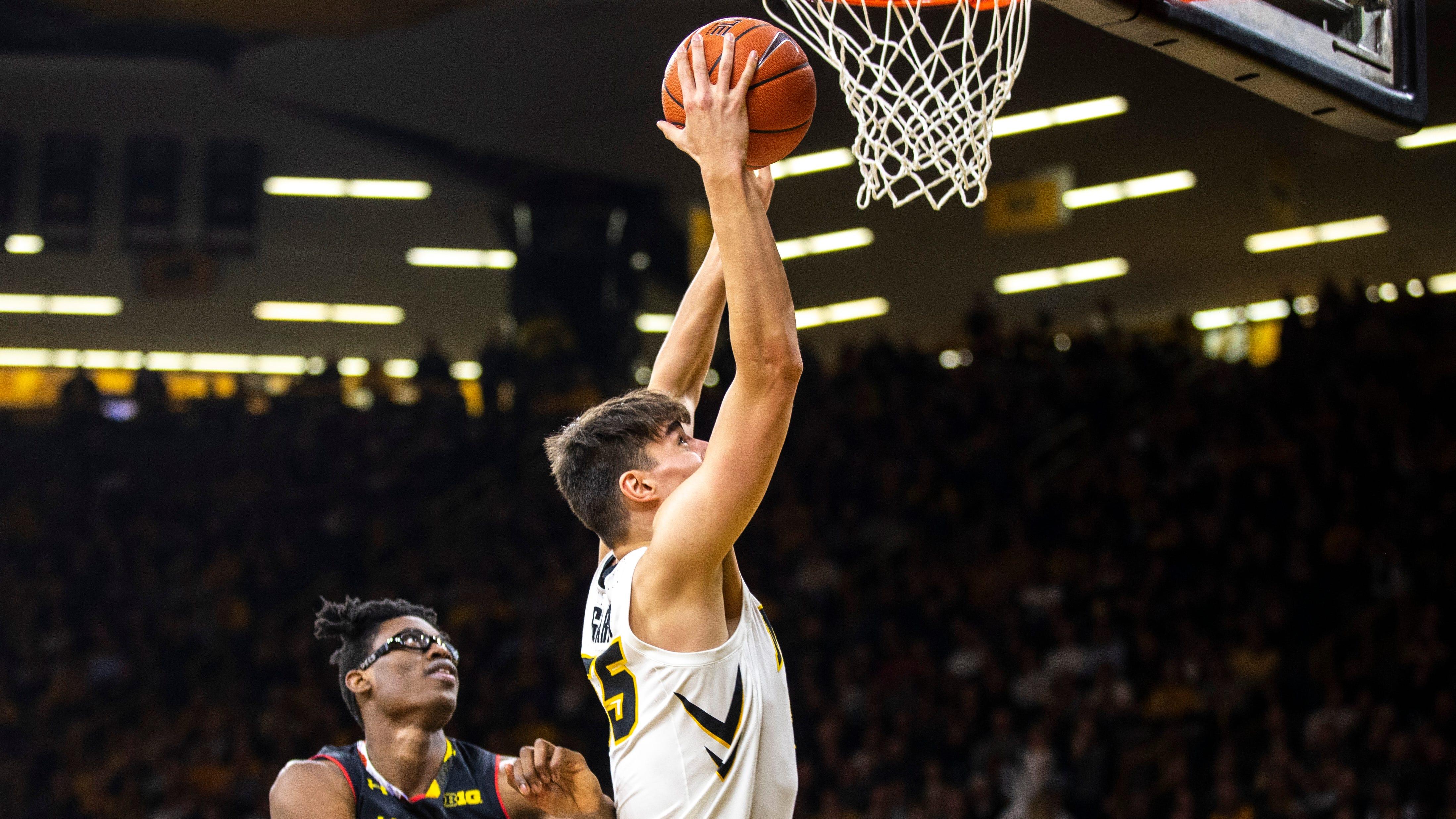 Iowa Hawkeyes men's basketball vs. Maryland Terrapins