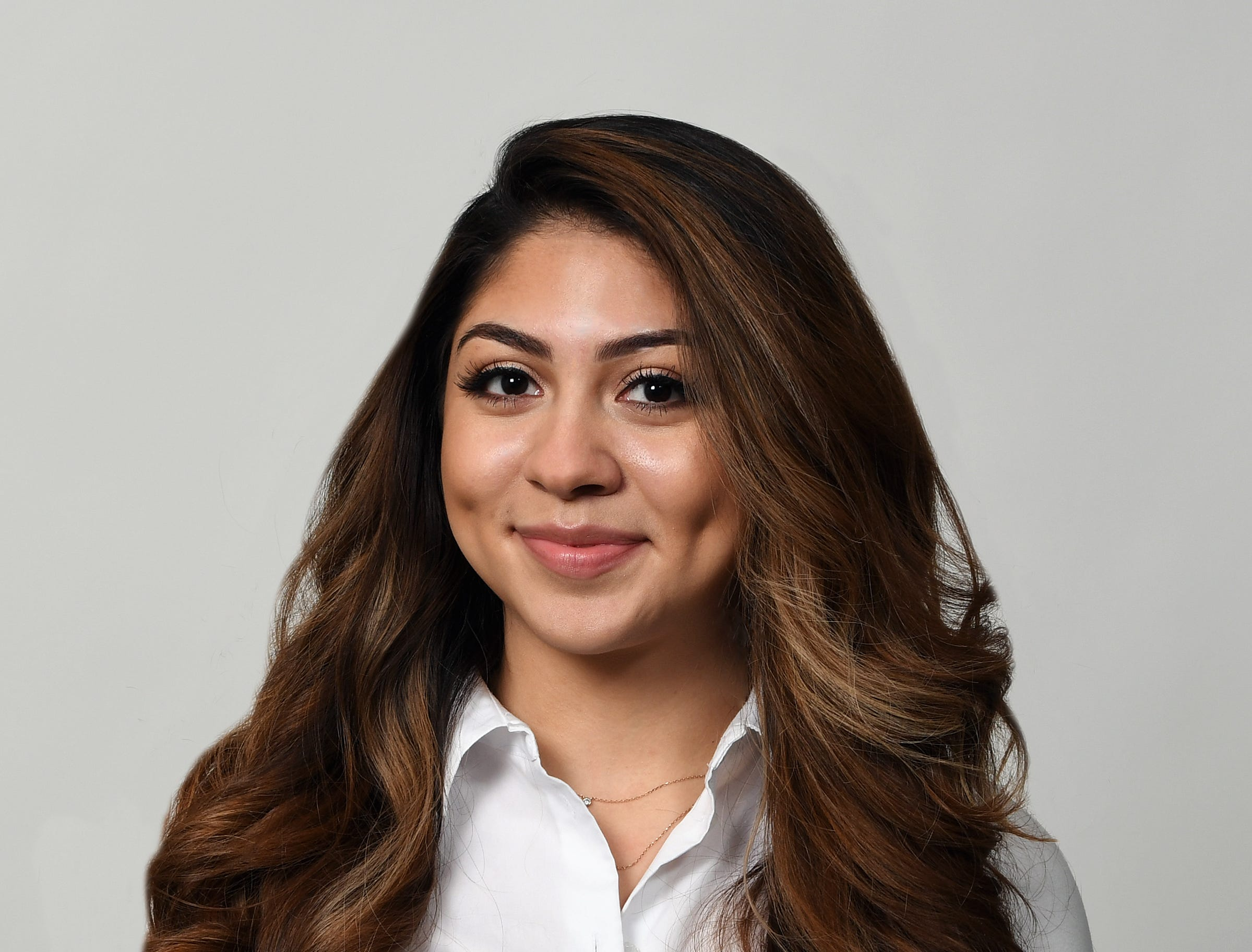Cassandra Pulido, Indianapolis, a graduate of Lawrence North High School and a junior at Indiana University majoring in marketing and international business