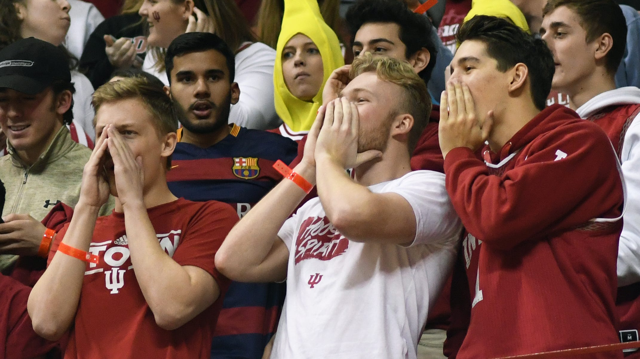 Indiana athletic director on profane chants: 'They were embarrassing and unacceptable'
