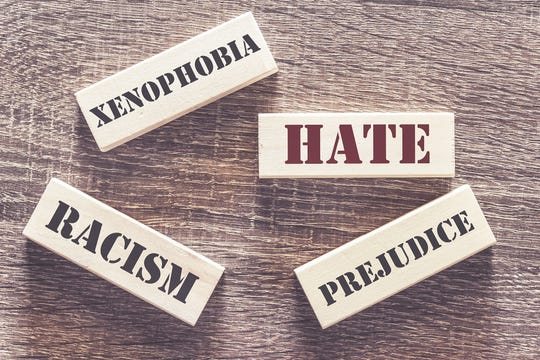 Hate, xenophobia, racism and prejudice