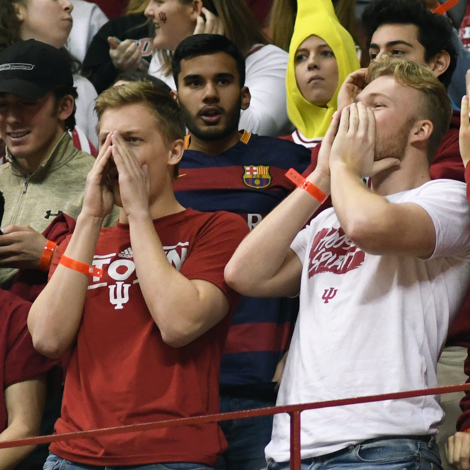 Twitter reaction: Fans can't believe what they saw in IU, Purdue first half